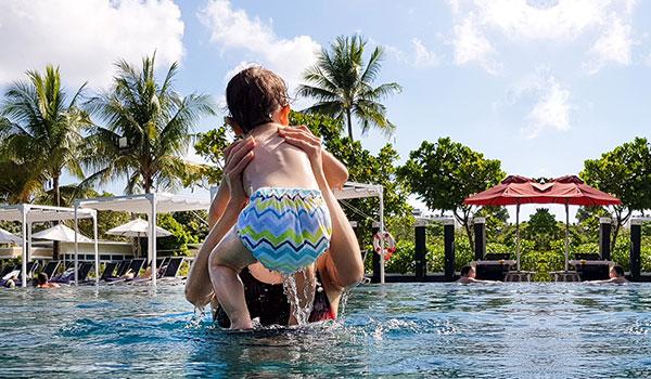 многоразовые подгузники для плавания